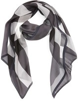 Burberry Women's Mega Check Silk Scarf