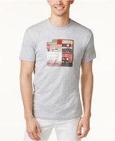 Ben Sherman Men's Mix Tap Graphic-Print T-Shirt