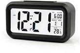 "BOYON Alarm Clock, Smart Desk,Travel,Wake Up Clock, Display Time, Date, Temperature, Battery Operated,Light Sensor 5.3"" Best for Office,Kids,Students"
