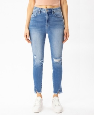 Thumbnail for your product : Kancan Women's High Rise Ankle Skinny Jeans