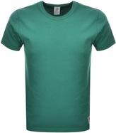 Franklin & Marshall Franklin Marshall Jersey Crew Neck T Shirt Green