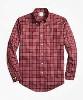 Brooks Brothers Non-Iron Regent Fit Herringbone Multi-Tattersall Sport Shirt
