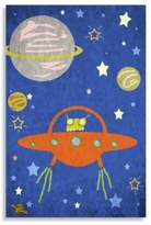 Bed Bath & Beyond Space Alien Canvas Wall Art
