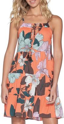 Maaji Sea Star Tiered Floral Dress