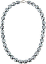 Majorica 12mm Baroque Pearl Necklace, Gray