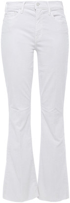 Mother Cotton-blend Corduroy Flared Pants