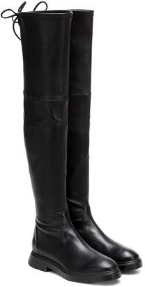 Stuart Weitzman Kristina leather over-the-knee boots
