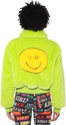 Kirin Smile Faux Fur Jacket