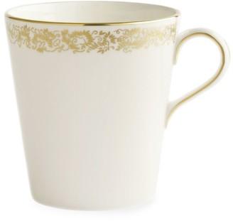 Royal Crown Derby Gold Aves 22K Gold & Bone China Mug