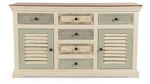Christopher Knight Home Padfield Boho Mango Wood 2-door 6-drawer Sideboard
