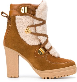 See by Chloe Heeled Suede Ankle Boots