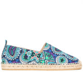Etro African print espadrilles - men - Cotton/Leather/rubber - 42