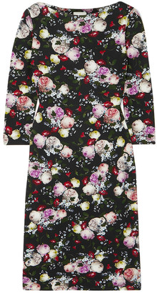 Erdem Reese Floral-print Stretch-jersey Dress