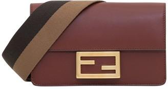 Fendi Flat Baguette Mini Bag