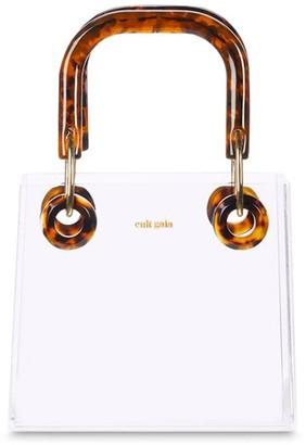 Cult Gaia Gieneva Plexi & Acetate Top Handle Bag