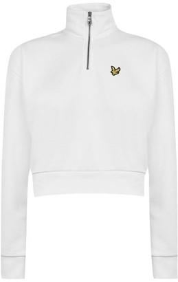 Lyle & Scott Half Zip Sweatshirt