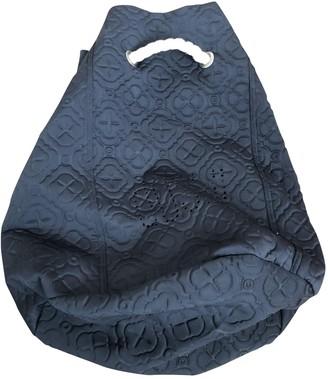 Duskii Black Cloth Backpacks