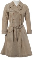 Miu Miu Beige Trench Coat for Women