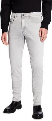 Diesel Men's D-Strukt Slim Light Wash Jeans