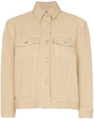 Jeanerica boxy stretch-denim jacket
