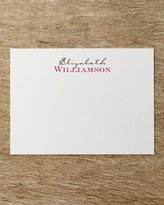 50 Two-Tone Correspondence Cards with Personalized Envelopes