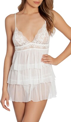Lilly Tiered Babydoll Chemise