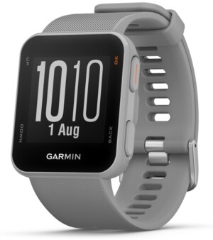 Garmin Unisex Approach S10 Powder Gray Silicone Strap Smart Watch 40mm