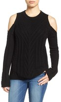 Vince Camuto Cold Shoulder Sweater (Regular & Petite)