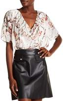 Religion Care Printed Blouse