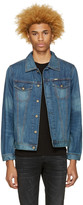 Diesel Indigo Denim Nhill Jacket