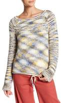 Theory Multicolored Thick Knit Sweater