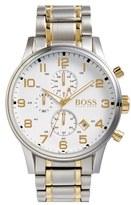 BOSS 'Aeroliner' Chronograph Bracelet Watch, 44mm