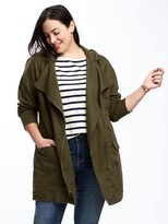 Old Navy Hooded Plus-Size Field Jacket