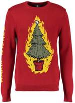 Volcom Warm Wishes Jumper Deep Red