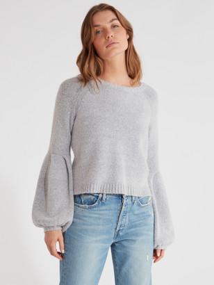 Finders Keepers Carlotta Ballon Sleeve Knit Sweater