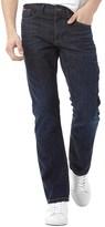 Lee Cooper Mens Basicon Jeans Dark Wash