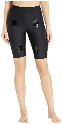 ULTRACOR Aero Lux Knockout Shorts (Nero Patent/Nero) Women's Shorts