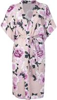 Fleur Du Mal shortsleeved robe - women - Silk - S/M