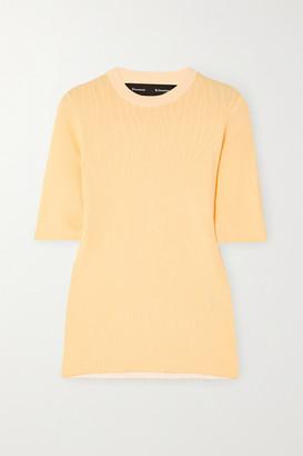Proenza Schouler Jacquard-knit Top
