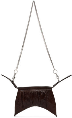 Charlotte Knowles Brown Croc Hydra Bag