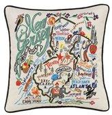 Catstudio New Jersey State Pillow