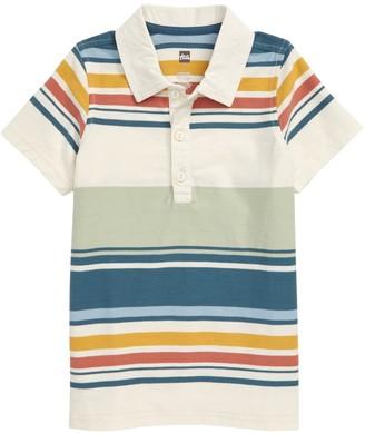 Tea Collection Striped Polo (Little Boys & Big Boys)