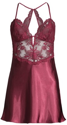 In Bloom Oh Darling Lace Satin Chemise