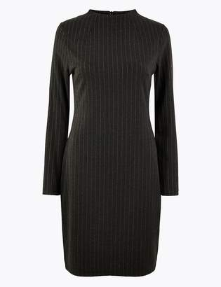 Marks and Spencer Pinstripe Shift Dress