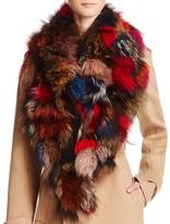 Jocelyn Silver Fox Notch Collar - 100% Bloomingdale's Exclusive
