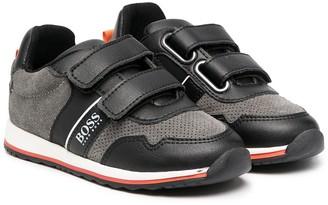 Boss Kidswear Touch Strap Sneakers