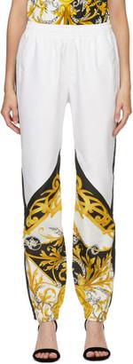 Versace White Barocco Lounge Pants