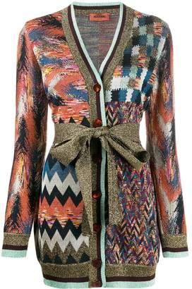 Missoni multi pattern cardigan