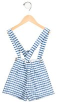 Oscar de la Renta Girls' Silk Gingham Shorts w/ Tags