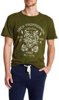 Obey Kiss Me Deadly Tiger Graphic Crew Neck Tee